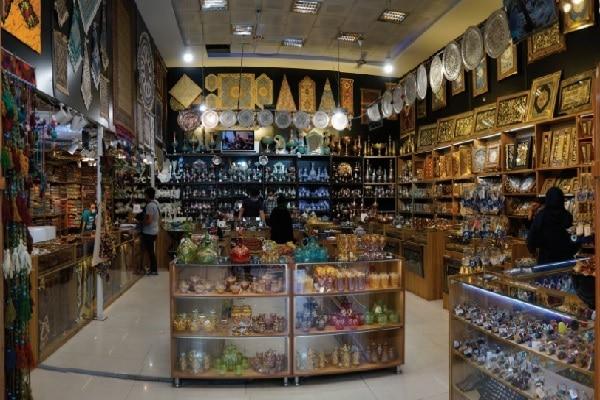 فروشگاه آرامان در بازار بزرگ تهران